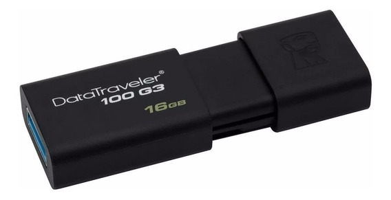 Memoria Usb 3.0 16gb Mayoreo Kingston Dt100 Original Barato