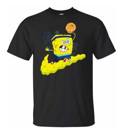 Nike Kyrie V 5 Spongebob Sz L Bob Sponja Playera Nba Jordan
