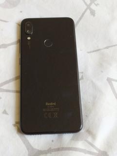 Xiaomi Redmi Note 7 4gb/64gb Negro Impecable Con Funda Usado