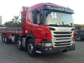 Scania P310 2014 Bitruck Com Entrada Pequena Carga Seca