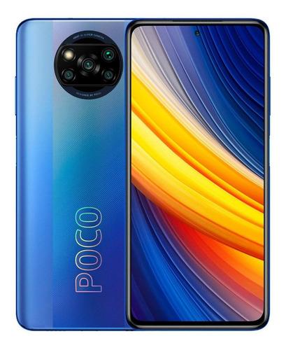 Celular Smartphone Xiaomi Poco X3 Pro 256gb Azul - Dual Chip
