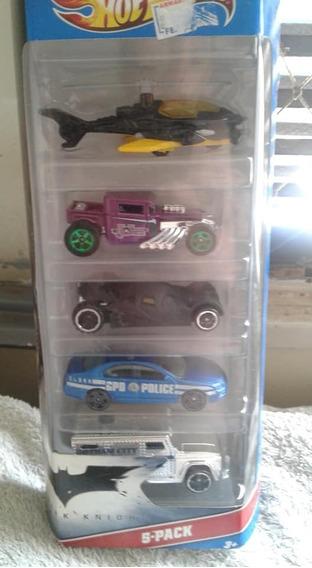 Miniaturas Pack C/ 5 Batman Hot Wheels Novo / Lacrado !!!