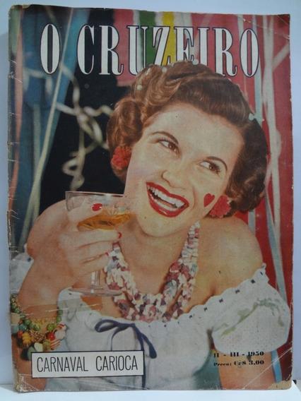 Revista O Cruzeiro Março De 1950 Carnaval Carioca