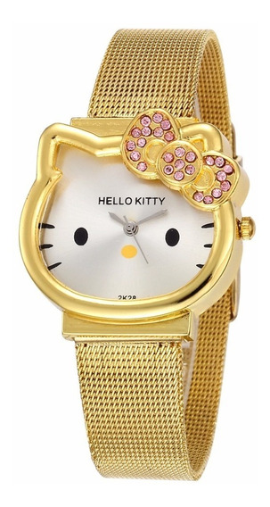 Hello Kitty Reloj Correa De Metal