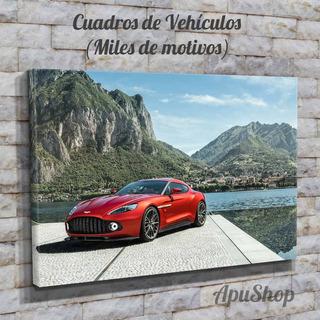 Miles Cuadros 90x60 Modernos Autos Motos Barcos Aviones