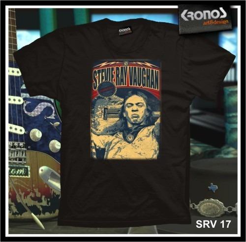 Remeras Stevie Ray Vaughan Rock Blues Guitarra Srv M.017