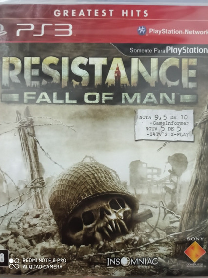 Resistance Fall Of Man Ps3 Original , Mídia Física