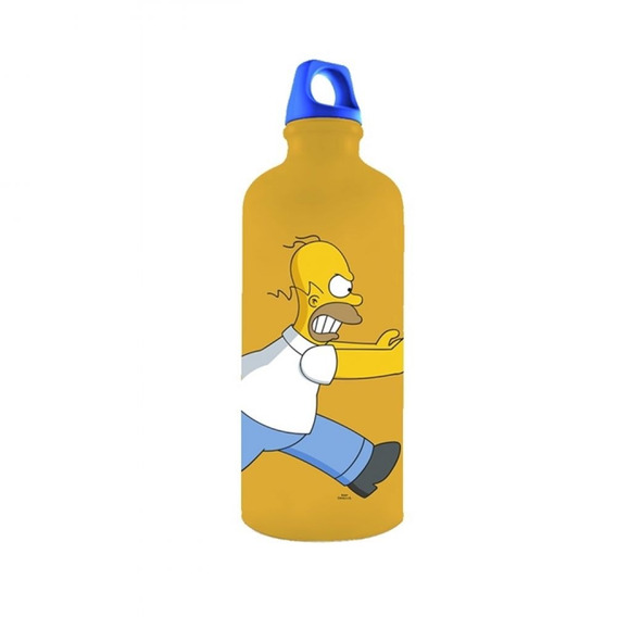 Garrafa Simpsons Family 600ml Amarela Trevisan Concept