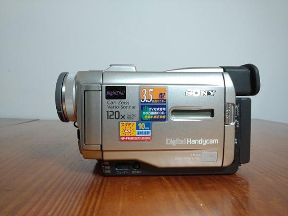 Câmera Sony Handycam Mini Dv 120x Do Japão
