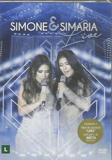 Dvd - Simone & Simaria - Live - Edição Especial - Lacrado