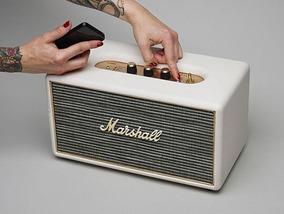 Caixa De Som Portátil Marshall Stanmore Preta Bluetooth Orig