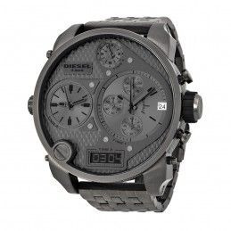 Relógio Diesel Dz7247 Big Daddy Black Gunmetal 57 Mm