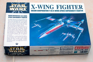 Star Wars X-wing Fighter Escala 1/72 Fine Molds