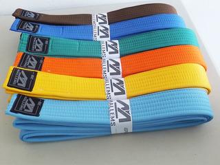 Cinturon De Colores Y Grado Artes Marciales Karate Mallems
