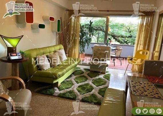 Alquiler Temporal De Apartamentos En Envigado Cód: 4756