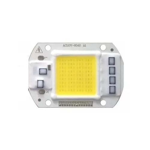 Imagem 1 de 6 de 2 Led 50w 110v Chip Inte. Branco Frio Sem Reator Direto 110v