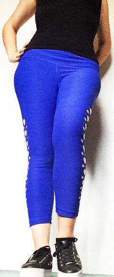 Leggins Grequitas Azul Rey