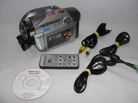 Filmadora Sony Vcr-hc996 Completa E Funcionando