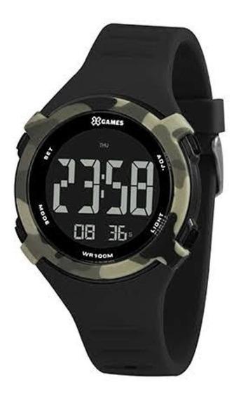 Relógio X-games Xmppd59 Masculino Digital Pulseira Silicone