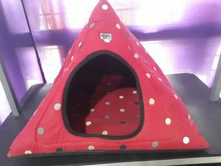 Cucha Piramidal De Tela. No Hago Envíos