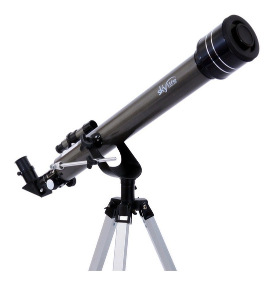 Telescópio Refrator Skylife 60 Gemini Profissional + Cd Rom