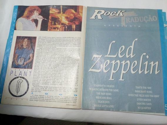 Revista Antiga Do Led Zeppelin Rara