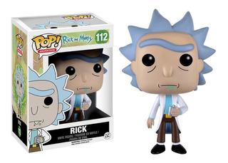 Funko Pop Rick And Morty Rick 112 Nuevo Original En Stock