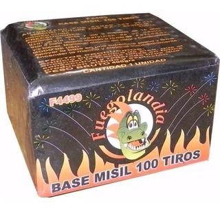 Fuegos Artificiales - Base Misil 100tiros