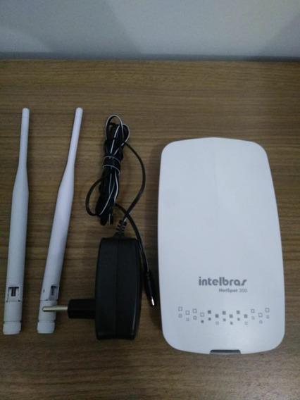 Roteador Wireless Hotspot 300 Intelbras Check-in Face