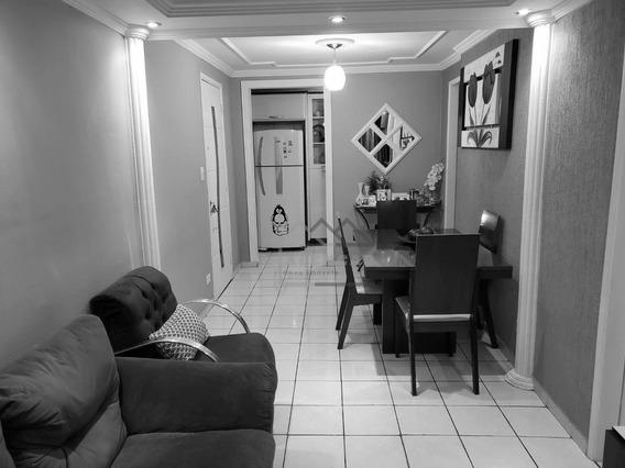 Excelente Apartamento Todo Planejado Com 2 Dormitórios À Venda, 46 M² Por R$ 200.000 - Guaianases - São Paulo/sp - Ap0068