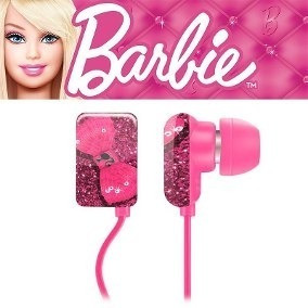 Fone Ouvido Earphone Barbie Multilaser Ph108 Original
