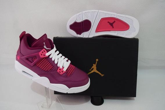 Jordan 4 Gs true Berry Valentine