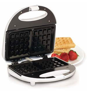 Maxi-matic Ewm-9008k Waffle Maker, Blanco