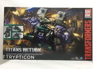 Transformers Trypticon Titans Return 3 Modos Hasbro