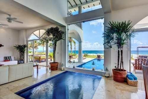 Espectacular Casa Un Oasis Frente Al Mar Villa Akumal