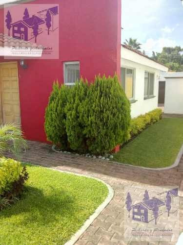 Venta De Casa En Condominio En El Pedregal De Las Fuentes, Jiutepec Morelos