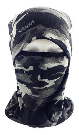Pasamontañas Gorro Bufanda Tactico Militar Gris Camuflaje