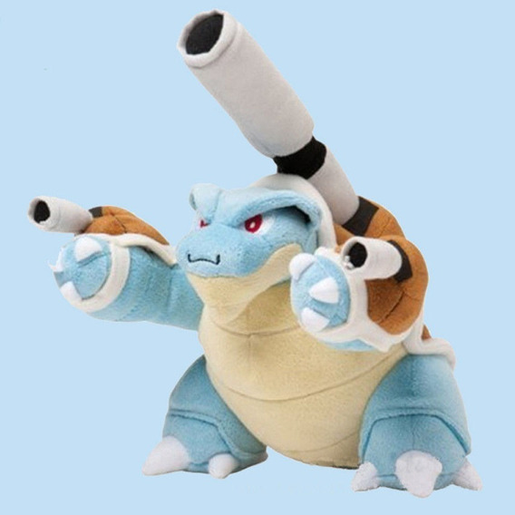 Pelucia Pokemon Mega Blastoise Incriveis 25cm! Frete Gratis!