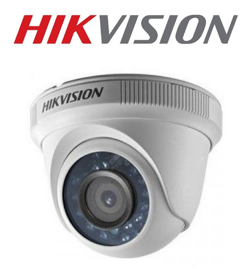 Câmera Dome 2mp Hikvision 1080p Lente 2,8mm Ds-2ce5ad0t-irp