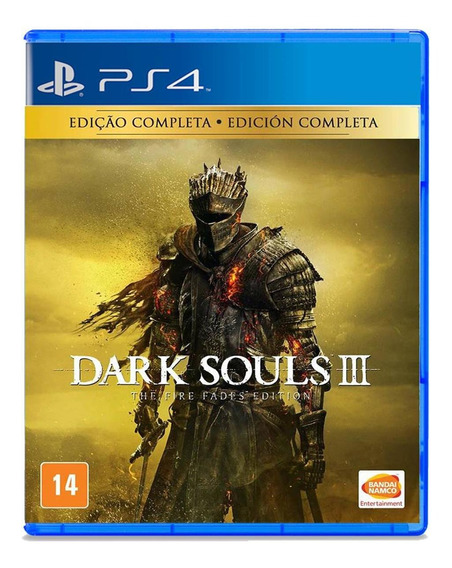 Dark Souls Iii: The Fire Fades Edition - Ps4