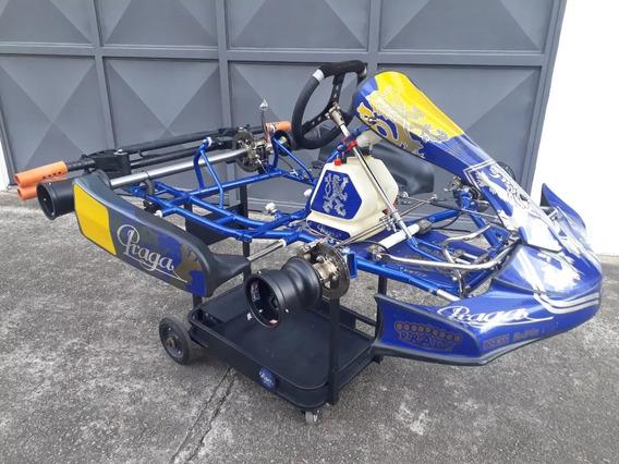 Kart Praga Dragon 2016 P/ Motor Rotax Dd2 - Tony Crg