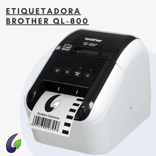Imagen 1 de 2 de Impresora De Etiquetas Brother Ql-800