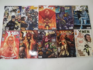 Hq Gibi Lote C/ 10 X-men Diversos Marvel F16