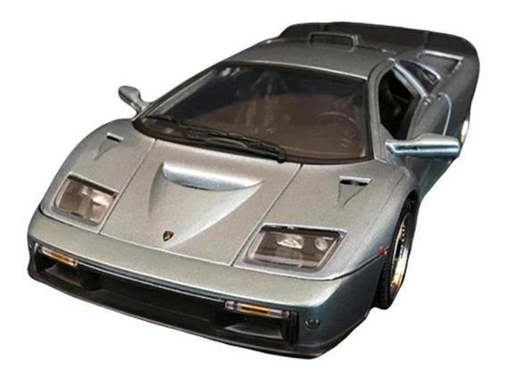 Miniatura Lamborghini Diablo Gt Motormax Escala 1/18