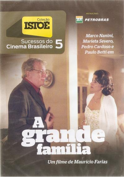 Dvd A Grande Família - Sucessos Do Cinema Brasileiro- Novo**