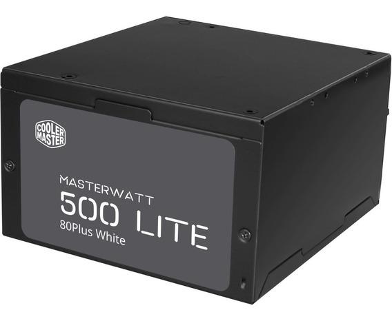 Fuente Gamer Cooler Master 500w Mwl 80 Plus White Lite Ctas