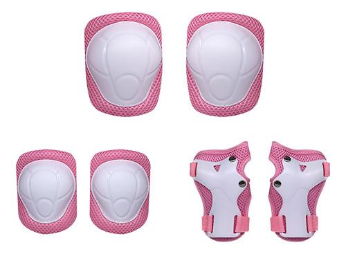 Imagen 1 de 6 de Rodilleras Para Niños Set 6 En 1 Kit De Equipo De Protección