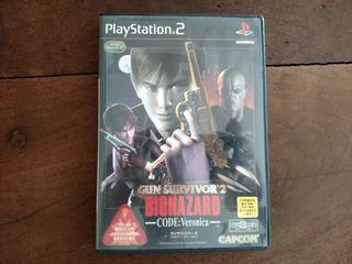 Biohazard Resident Evil Gun Survivor 2 Jap P/ Ps2 Ps3 Kuy.