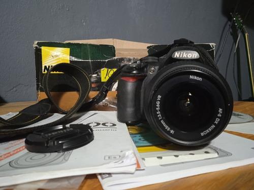 Imagen 1 de 5 de Cámara Reflex Profesional Nikon D3100