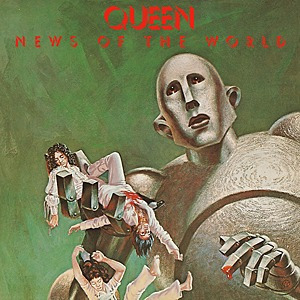 Queen News Of The World Vinilo Nuevo Sellado Importado
